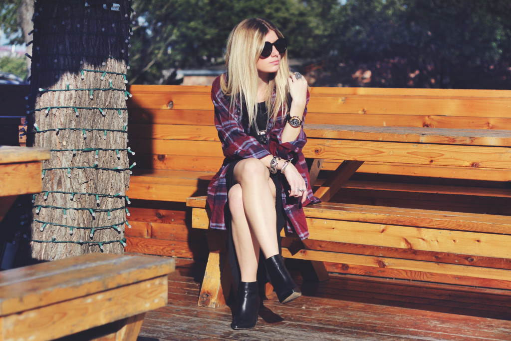 flannel and maxi