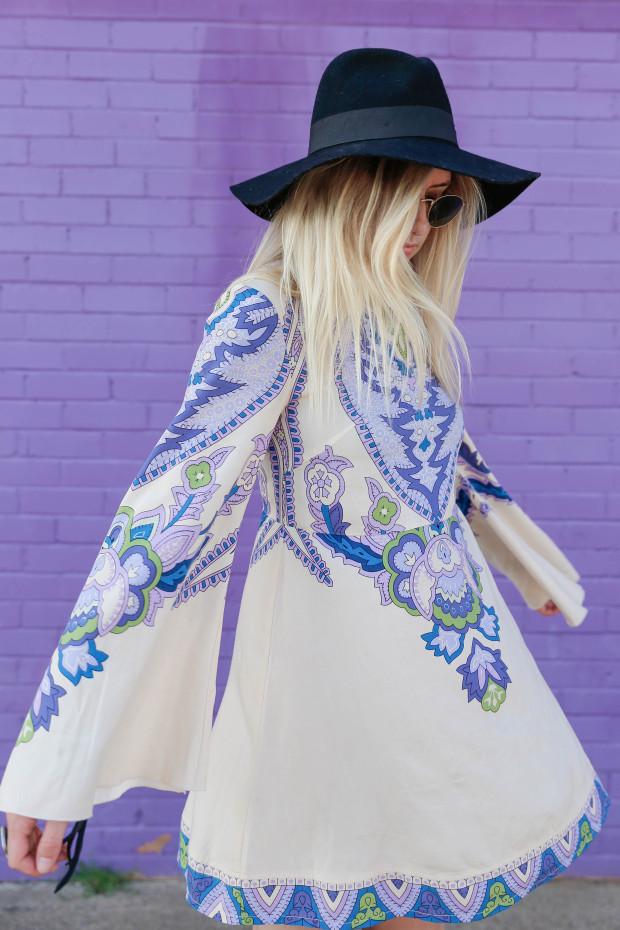 high end hippie lenni dress