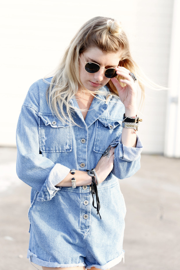 high end hippie pixie market denim romper