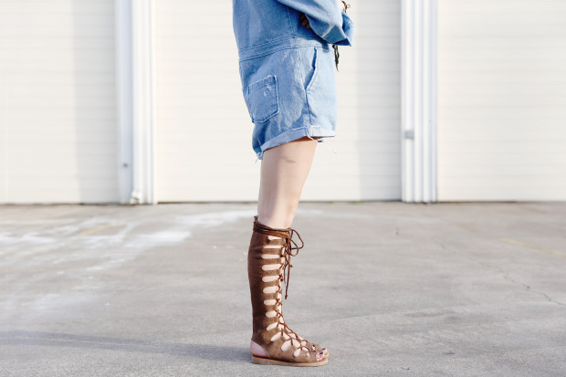 jeffrey campbell suede gladiators