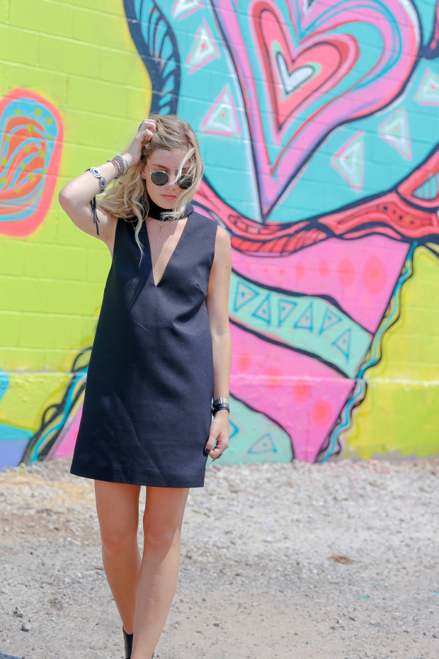 cameo collective say it right cutout dress