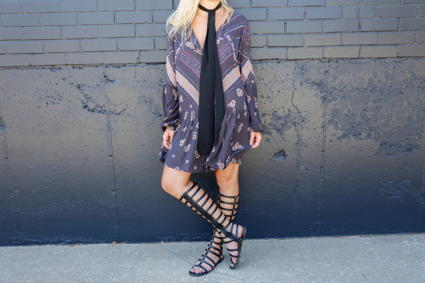 free people dress and gladiators