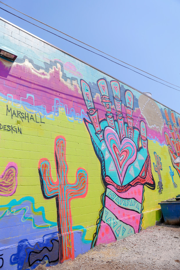 marshall design mural deep ellum