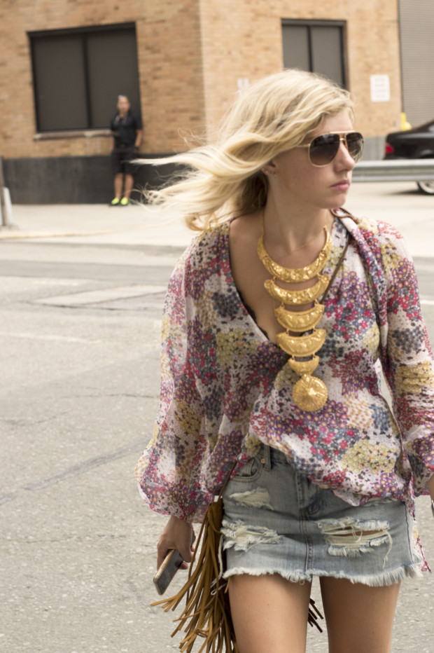 floral reformation top