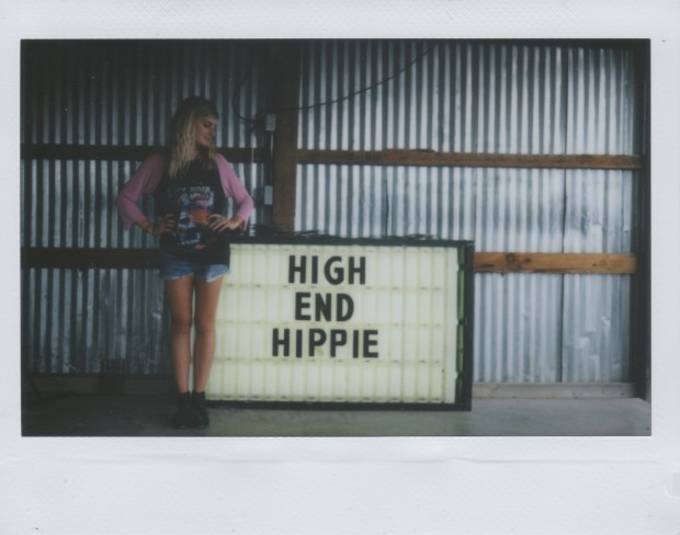 high end hippie