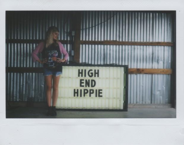 high end hippie