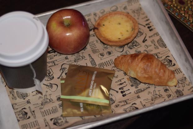 hudson hotel breakfast