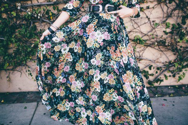 yumi kim dress and b-low the belt