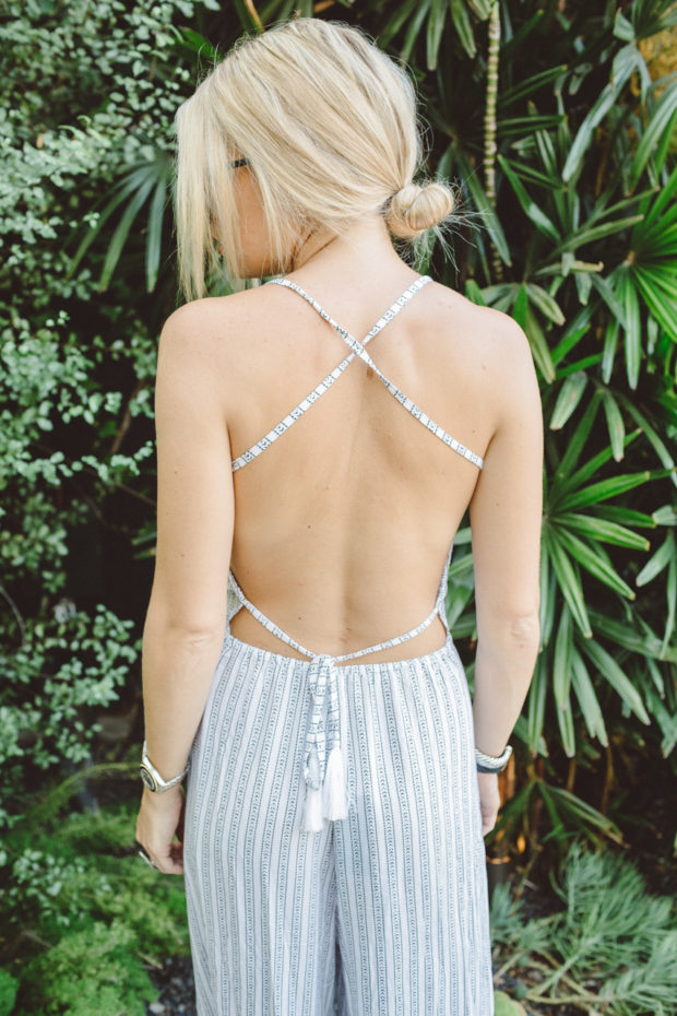 indah jumpsuit with strappy back